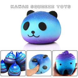 Squeeze Squishys Galaxy Cute Panda Cream Scented Squishy Funny Gadgets Anti Stress Novelty Antistress Toys Gift slime toys - SmilyDeals