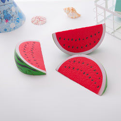 Kawaii 14cm Jumbo Squishy Watermelon Super Slow Rising Squeeze Soft Stretch Scented Bread Cake Fruit Fun Kids Toys Gift