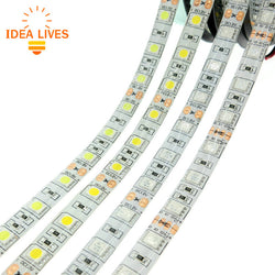 waterproof LED Strips RGB 5050 DC12V 60LEDs 5m - SmilyDeals
