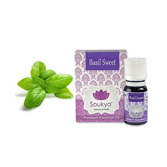 Soukya Basil Sweet Essential OIl 10ml