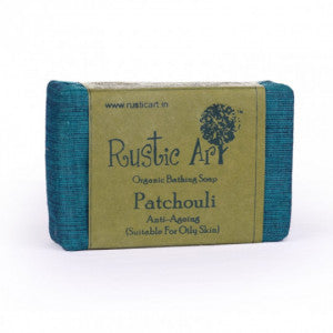 Rustic Art Patchouli Soap 100gm