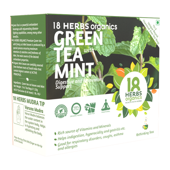 18Herbs Green Tea Mint