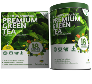 18Herbs Premium Green Tea
