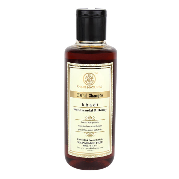 Khadi Woody Sandal & Honey Shampoo 210Ml
