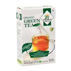 24Mantra Green Tea 100gm