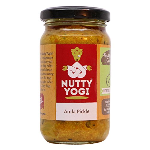 NUTTY YOGI Amla Pickle 200Gm