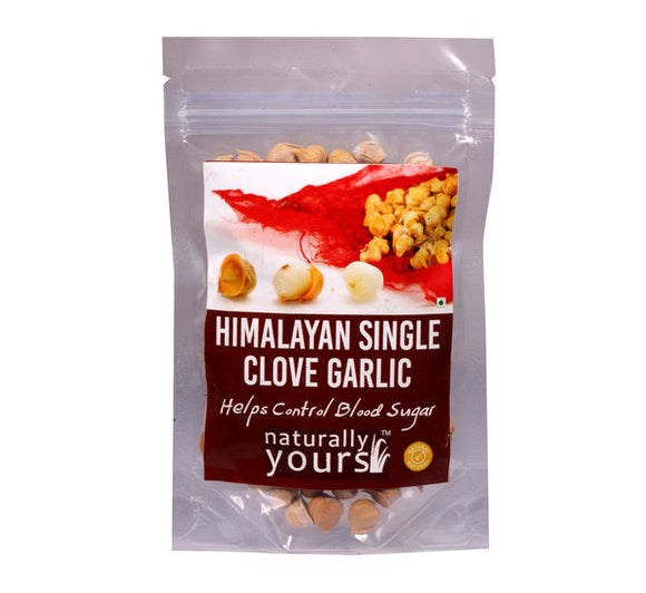 Naturally Yours Himalayan Single Clove Garlic 50g