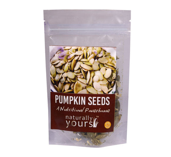 Naturally Yours Roasted and Salted Pumpkin Seeds 50g