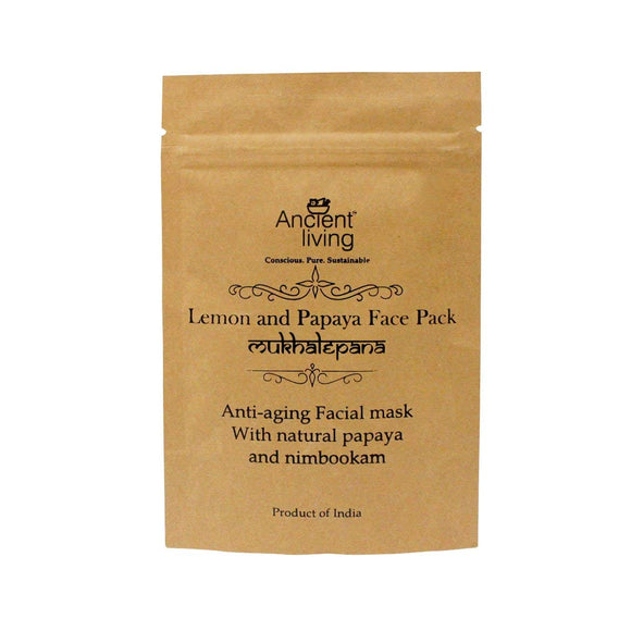 Lemon and Papaya Face Pack 40Gm