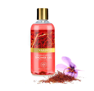 Luxurious Saffron Shower Gel 300ml