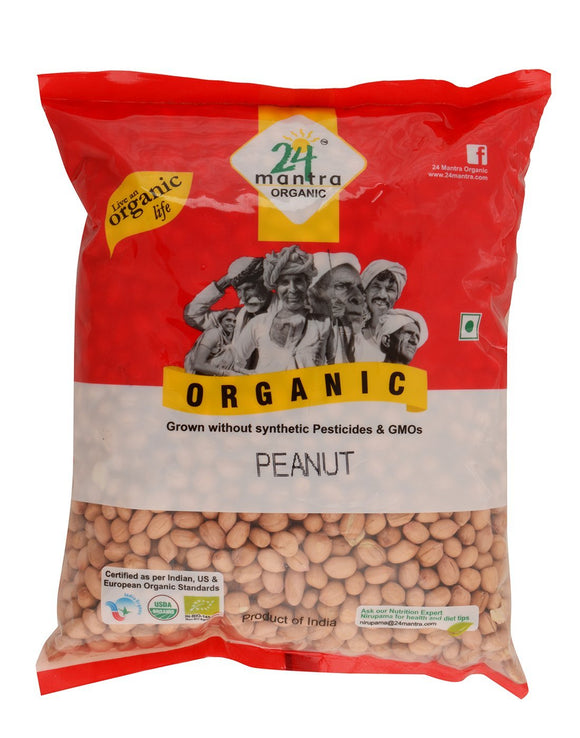 24Mantra Ground Nut (Peanut) 1kg