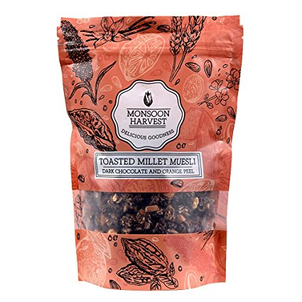 Monsoon Harvest Dark Chocolate & Orange Peel 250Gm