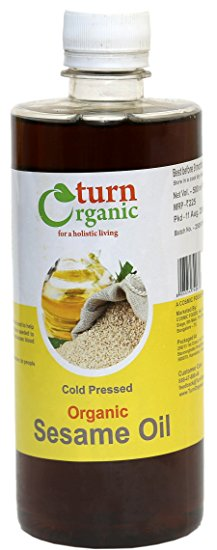 TURN ORGANIC Sesame Oil 500ml