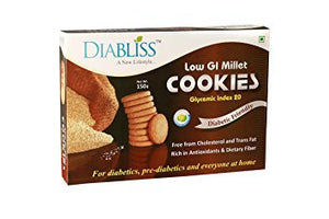 Diabliss Low GI Millet Cookies 150gm