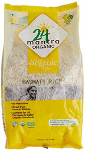 24Mantra Basmati Rice Premium Polished 1kg