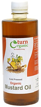TURN ORGANIC Mustard Oil 500ml
