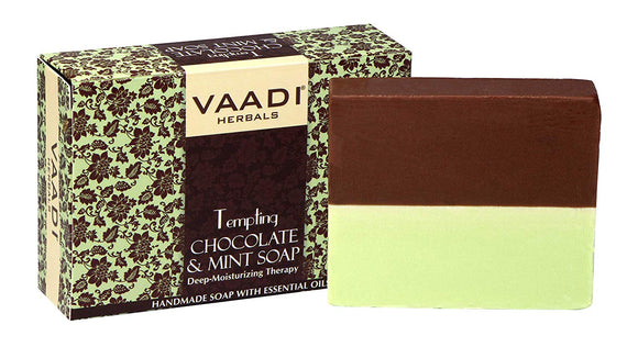 Tempting Chocolate & Mint Soap 75gm