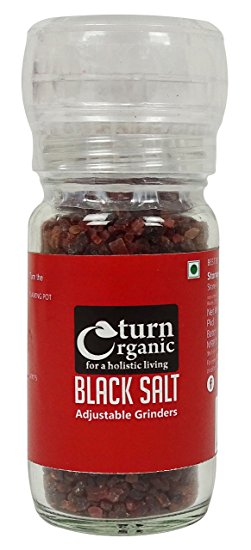 TURN ORGANIC Black Salt 100gm