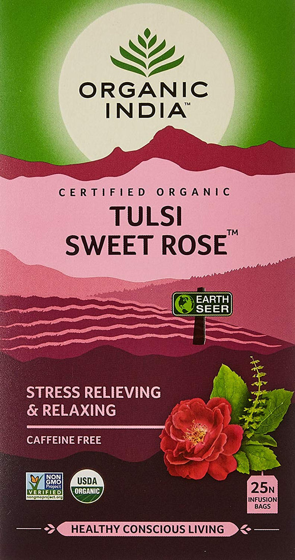 Sweet Rose Tea 25 Bags