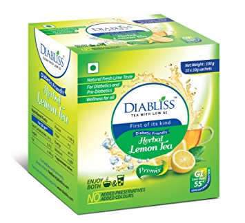 Diabliss Lemon Tea 10 sachets