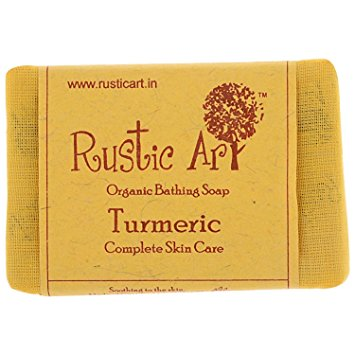 Rustic Art Turmeric Soap 100gm