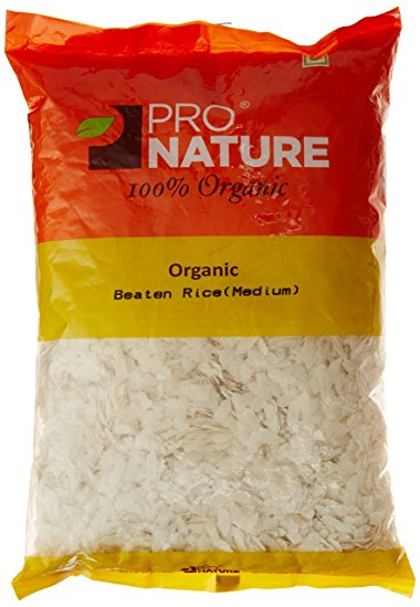 ProNature Beaten Rice (Medium Poha) 1kg