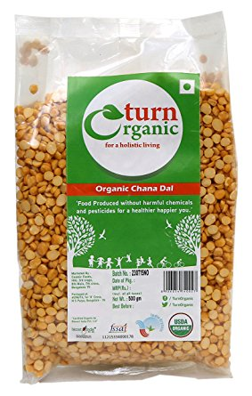 TURN ORGANIC Channa Dal