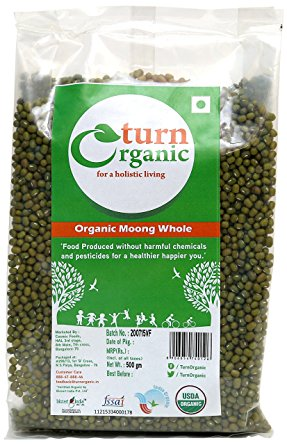 TURN ORGANIC Moong Whole