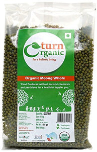 TURN ORGANIC Moong Whole 500g