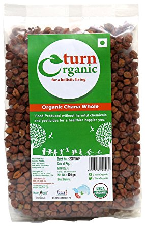 TURN ORGANIC Channa Whole 500g