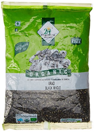 24Mantra Urad Dal Black Whole 500gm