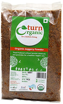 TURN ORGANIC Jaggery Powder 500g
