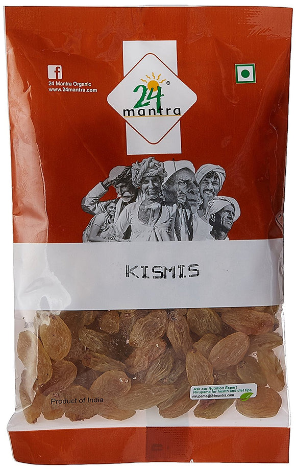 24Mantra Raisins (Kismis) 100gm