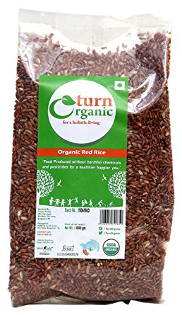 TURN ORGANIC Red Rice 1KG