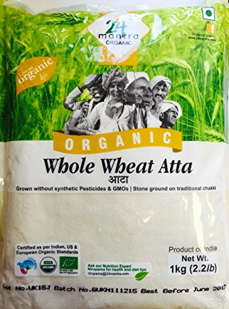 24Mantra Wheat Whole 1kg