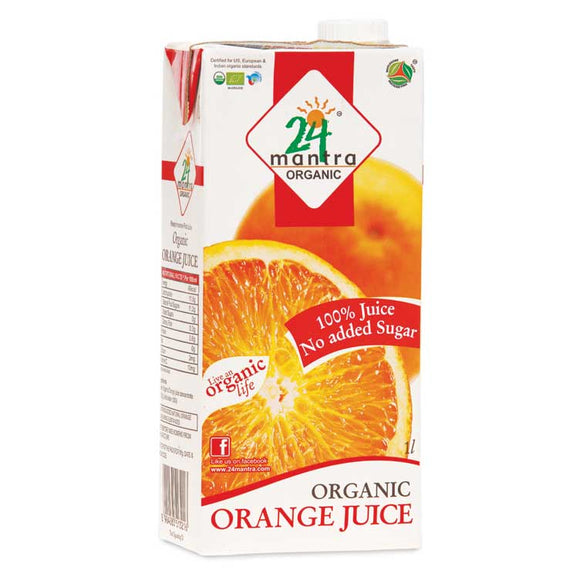 24Mantra Orange Juice