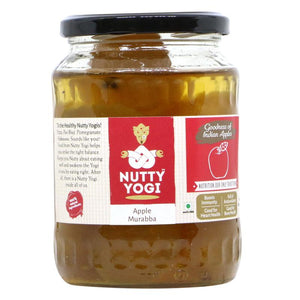 NUTTY YOGI Apple Murabba 650Gm