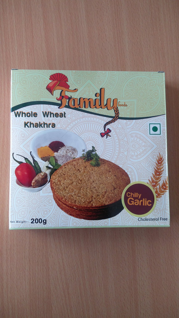 Chilly Garlic Khakhra 200Gm