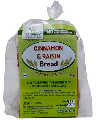 Bread Cinnamon Raisin 300gm
