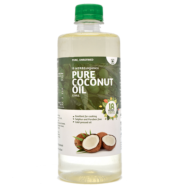 18Herbs Pure Coconut Oil 500ml
