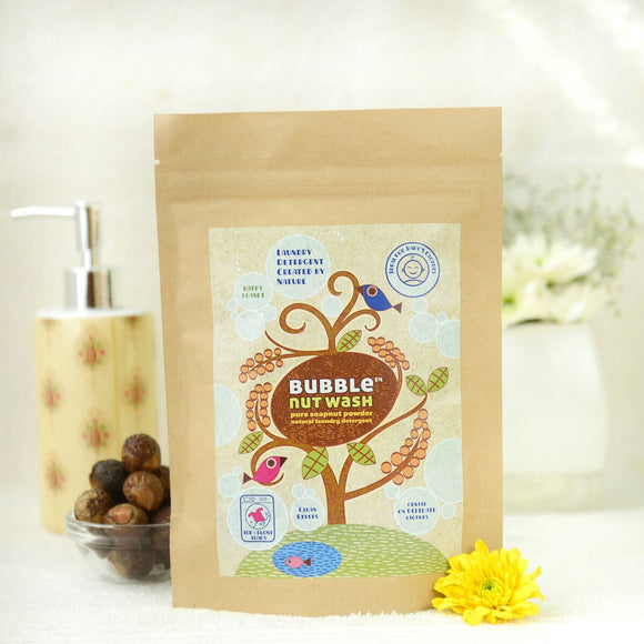 Bubble Nut Wash Bubble Nut Wash Laundry Powder 250gm