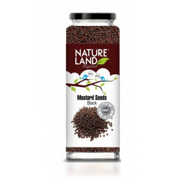 Nature Land Mustard Black Seeds 150gm