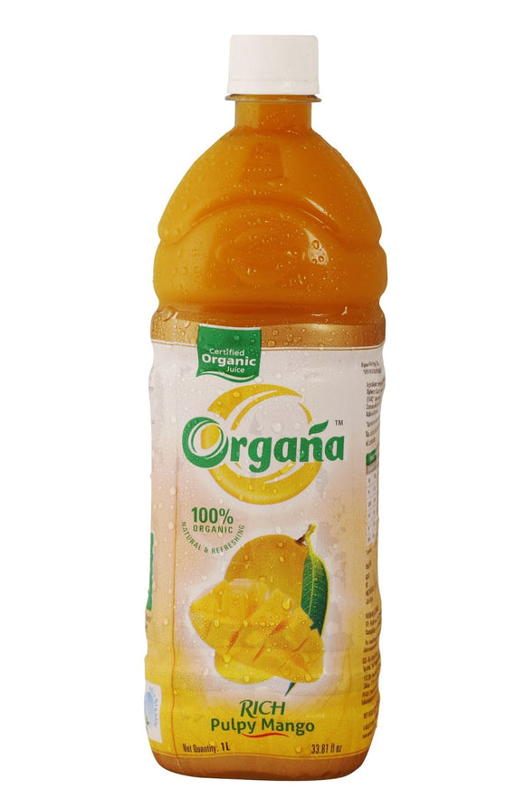 Organa Rich Pulpy Mango 250Ml