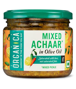 Organica Mixed Achaar (Olive Oil)