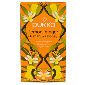 Phalada Lemon Ginger & Manuka Honey 20 Sachets