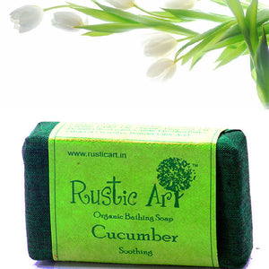 Rustic Art Cucumber Soap
