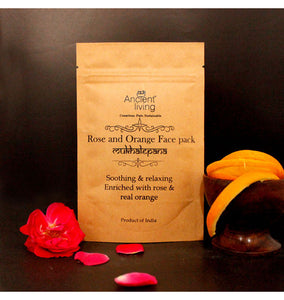 Rose and Orange Face Pack 40Gm