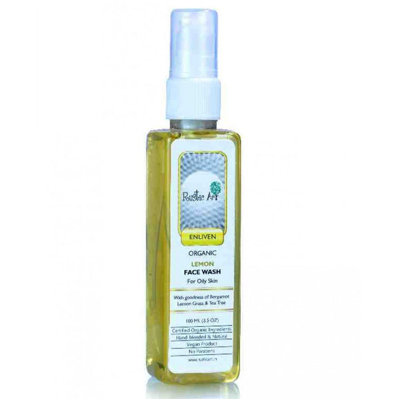 Rustic Art Face Wash Lemon Grass & Tea Tree 100ml