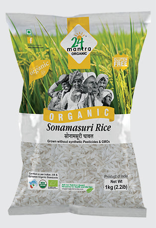 24Mantra Sonamasoori Rice (Polished)