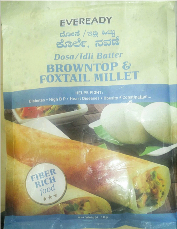 Eveready Millet Dosa Idli Batter